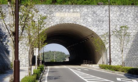 主要地方道 竹田五ヶ瀬線 新山手トンネル