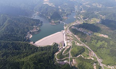 大分川水系 ななせダム