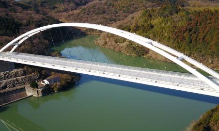 一般県道 大田杵築線 石山天空橋