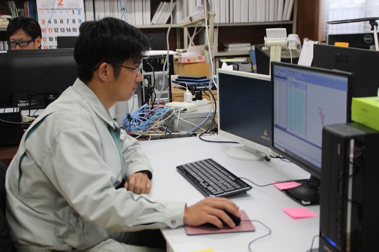 公月測量設計(株)  長野 康平さん(25歳)